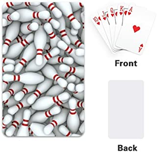 Fashion Sport Bowling Balls Fashion Custom Playing Cards / Poker Design Single Side (2.1