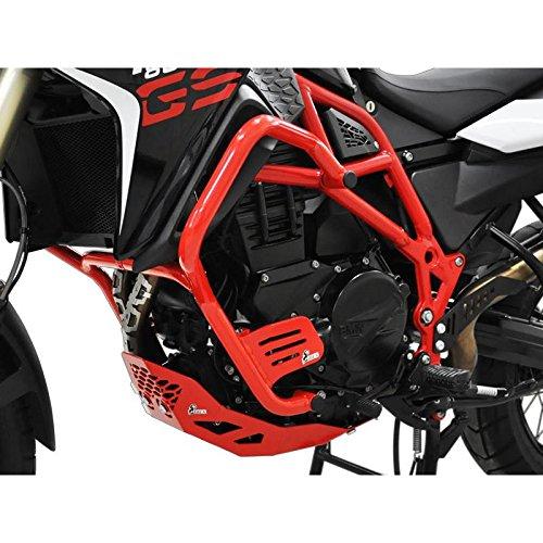IBEX 10002076 Sturzbügel Schutzbügel Sturzschutz Motor Crash Bars Rot