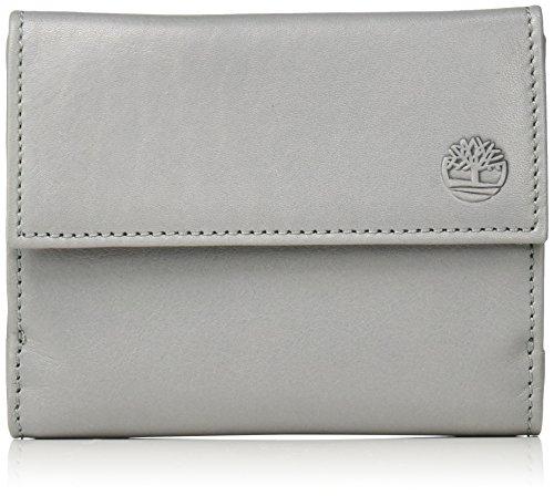 Timberland Damen Tb0m5427 Geldbeutel, Weiß (Steel Grey), 1x10x13 cm