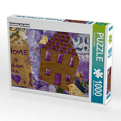 CALVENDO Puzzle Herzensangelegenheit 1000 Teile Lege-Größe 64 x 48 cm Foto-Puzzle Bild von Christine Brendle-Behnisch Müller