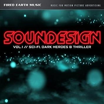 Soundesign Vol. 1: Sci-Fi, Dark Heroes & Thriller (Original Soundtrack)