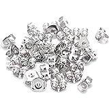 MINGZE 20 Stück / 10 Paar 925 Sterling Silber Ohrring Stopper, Ohrstecker Verschluss Poallergenen...