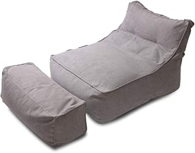 Amazon.com: WWsofa Bean Bag Sofa Adult Rectangular Lazy Sofa ...