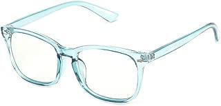 Cyxus Blue Light Blocking Computer Glasses [Better Sleep] Anti Blue Light,Anti Glare Reading/Gaming Glasses for Men and Women (Blue,T65)