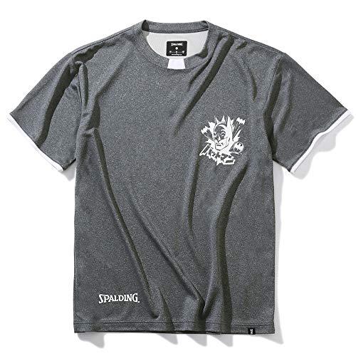 SPALDING(スポルディング) バスケットボール Tシャツ バットマン SMT200500 ヘザーチャコール Sサイズ バスケ バスケット