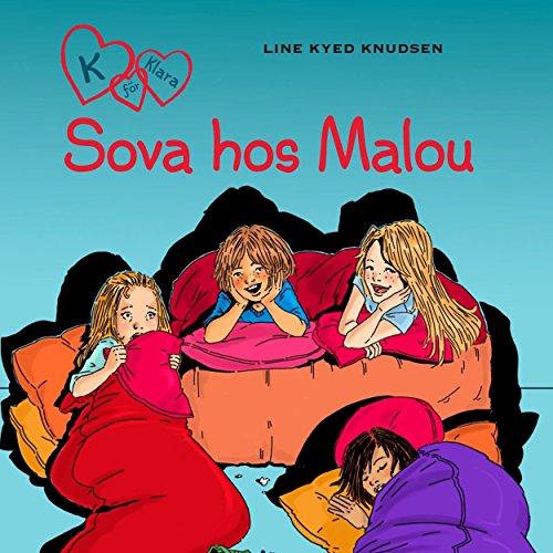 Sova hos Malou audiobook cover art
