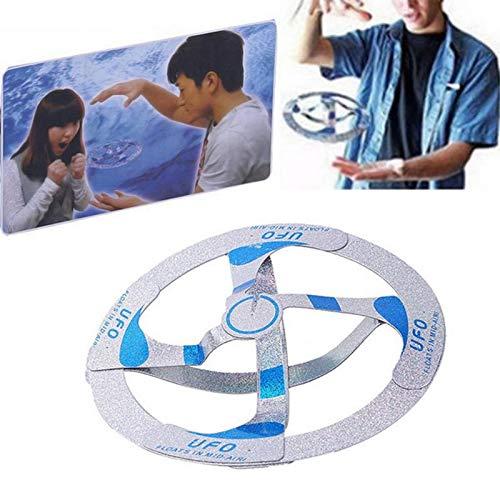 Home UFO Mini Drohne, UFO Fliegendes Spielzeug Handgesteuerter RC DroneMini Flugspielzeug Ball Infrarot Induktions Untertasse Drohne mit LED Spielzeug Geschenke für Jungen Mädchen