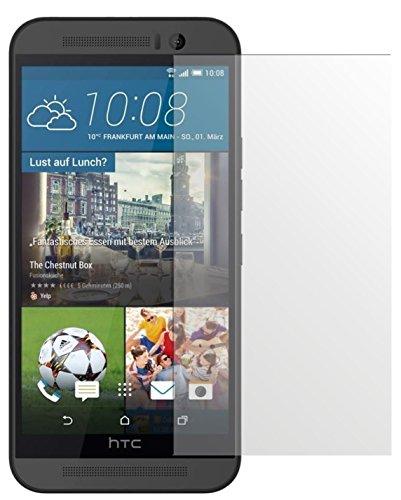 dipos I 6X Schutzfolie matt kompatibel mit HTC One M9 Folie Bildschirmschutzfolie