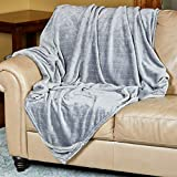 Outrageously Soft Convertible Cozee Blanket and Pillow - 2 in 1 Throw and Pillow - 60 x 70 Inches - Grey