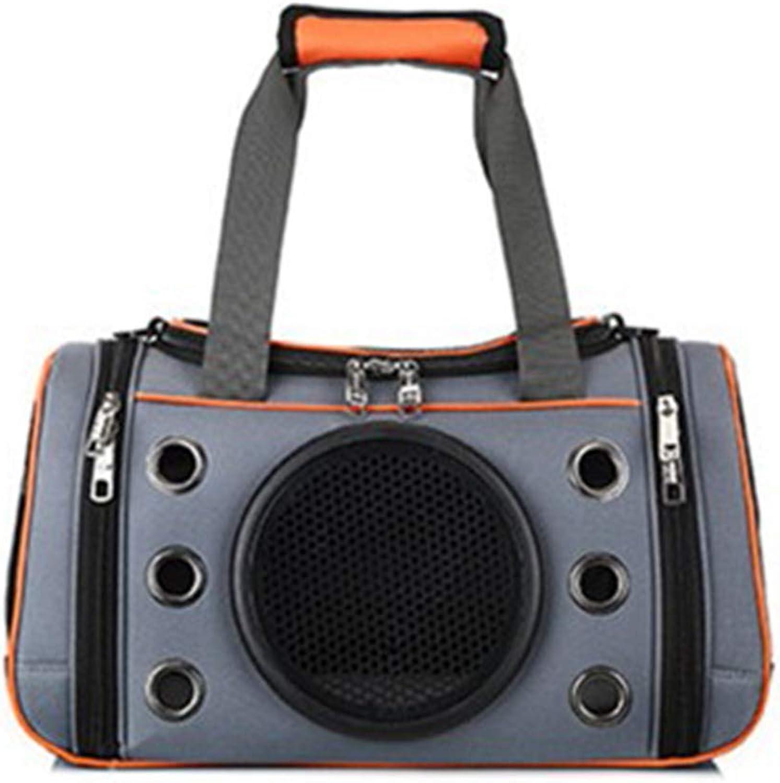 Pet bag out portable bag cage cat dog Foldable bag handbag breathable bag cat backpack Messenger bag travel bag