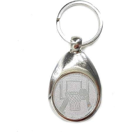 Familienkalender Basketball Motiv Schlüsselanhänger Mit Einkaufswagenchip Edel Elegant Silberfarben Glänzend Chip Spielzeug