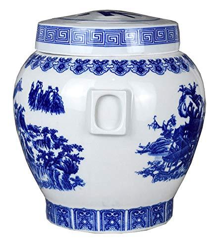 Keramik Asche Altar Asche Glas Urne Box Doppeldeckel mit innerem Deckel Knochen kann Foto Sarg Beerdigung Konvergenzbehälter einfügen