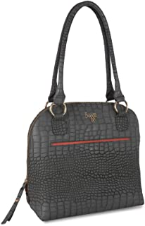 Baggit Women's Shoulder Bag (Charcoal)