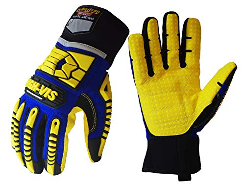 Seibertron HIGH-VIS SDXW Cold Weather Condition Oil and Gas Waterproof Safety Working Gloves S