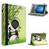 UC-Express Tablet Hülle kompatibel für Odys Space One 10 Tasche Schutzhülle Hülle Schutz Cover 360 Drehbar 10.1 Zoll, Farbe:Motiv 11