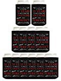 50th Birthday Gifts for Men It Took 50 Years to Become This Awesome and Almost Perfect Gifts fro Men 50th Birthday Supplies 50th Birthday Party Favors 12 Pack Can Coolie Drink Coolers Coolies Black