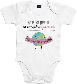SUPERMOLON Body bebé algodón No es por presumir pero tengo