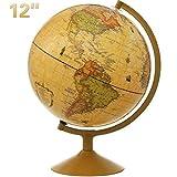Best World Globes - World Globe, KingSo Antique Globe for Kids 12 Review