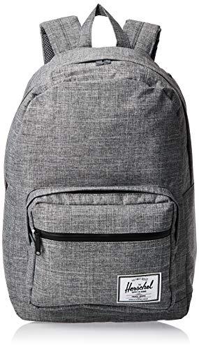 Herschel Pop Quiz Backpack, Raven Crosshatch/Black, Classic 22L