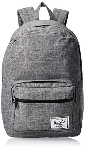 Herschel Pop Quiz Backpack, Raven Crosshatch/Black, Classic 22L