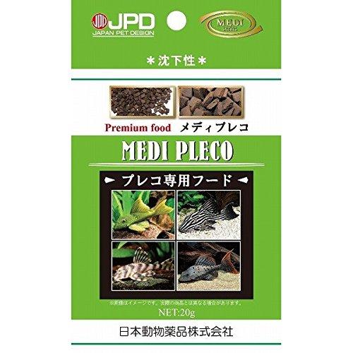 (まとめ買い)ニチドウ 魚の餌 メディプレコ 20g 【×10】