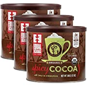 Equal Exchange Organic Spicy Hot Cocoa, 12-Ounce (Pack of 3)