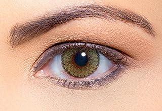 Solotica Solflex Natural Colors Mel - lentillas de colores mensuales - 1 par (2 undidades) (0.00, 8.70, 14.20, 2.00)