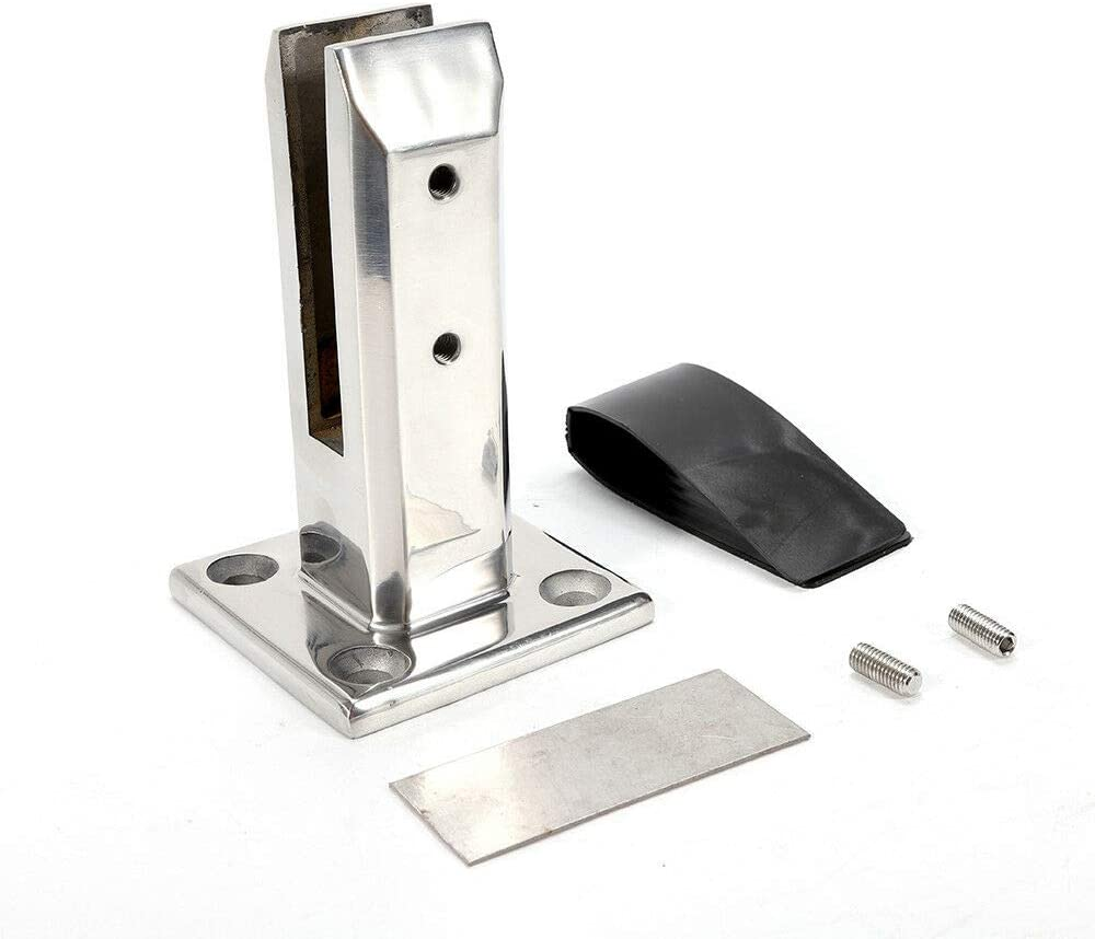 DIFU KDHARMR Stainless Steel Fence Glass 40% OFF Cheap Branded goods Sale Clamp Spigots Balus for