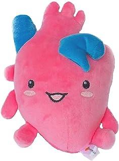ぬいぐるみ 臓器 人体 内臓 目 心臓 胃 筋肉 うんち うんこ 腸 脳 肺 お見舞い 快気祝い 健康祈願 還暦 病院 理科 誕生日 プレゼント 知育 おもしろい おもちゃ 玩具 人形 クリニック (心臓)