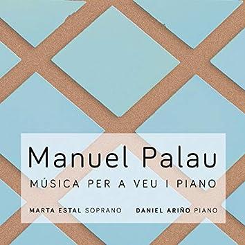 Manuel Palau: música per a veu i piano