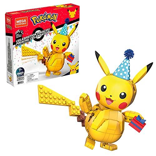 Mega Construx Wonder Builders Pokémon Aniversário Pikachu