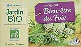 Jardin Bio Infusion Bien-Être du Foie 28 g - Lot de 4
