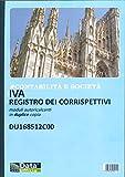 DU168512C00 - CONTABILITA' E SOCIETA' - IVA REGISTRO DEI CORRISPETTIVI MODULI AUTORICALCAN...