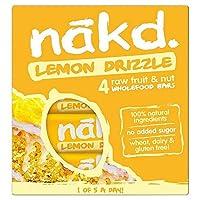 [Nakd] Nakdレモン霧雨マルチパック4×35グラム - Nakd Lemon Drizzle Multipack 4 x 35g [並行輸入品]