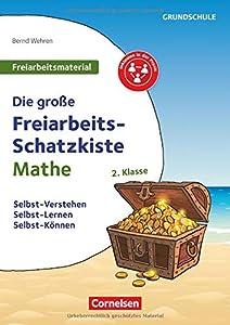 Freiarbeitsmaterial für die Grundschule - Mathematik: Klasse 2 - Die große Freiarbeits-Schatzkiste: Selbst-Verstehen, Selbst-Lernen, Selbst-Können. Kopiervorlagen