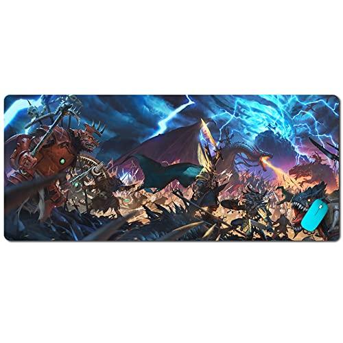 Tapis de Souris Warhammer 2 Total War Couture surdimensionnée Tapis de Bureau d