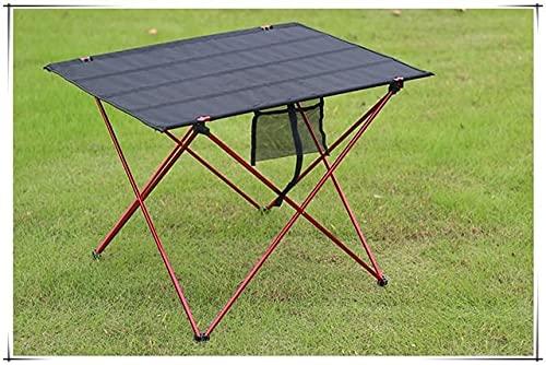 Escritorio de Mesa Plegable Plegable portátil Camping al Aire Libre Picnic 6061 Aleación de Aluminio Ultraligero - a20