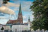 druck-shop24 Wunschmotiv: Schwerin Cathedral in