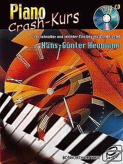 PIANO CRASH KURS - arrangiert für Klavier - mit CD [Noten / Sheetmusic] Komponist: HEUMANN HANS GUENTER