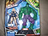 Marvel Legends 6' Marvel's Valkyrie and Hulk Action Figure 2-Pack Exclusive