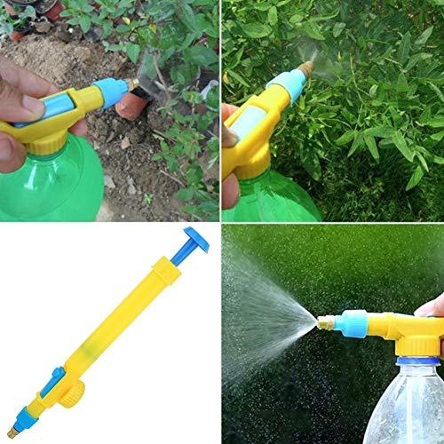 Pulverizador, manual de alta presión multifunción portátil Mini bomba de agua neumática Pulverizador de jardín Herramienta de riego para plantas de flores Bonsai