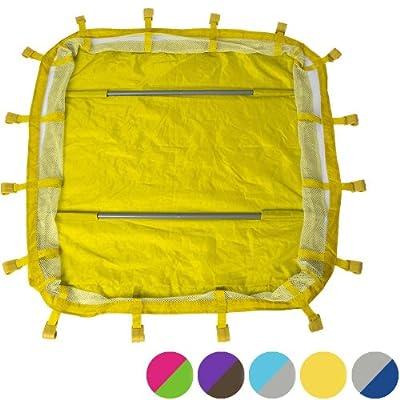 Infantastic® - KRB03-ZBH-002 - Elevador cuna de viaje - Aprox. 92 x 92 x 20,5 cm - Diferentes modelos para elegir