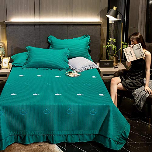 Juego de colcha de cama, diseño geométrico reversible, manta de dormitorio es suave y agradable al tacto, juego de 3 piezas, 200230 cm