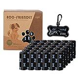 Bolsas Caca Perro, Bolsas para excremento de Perro, Bolsas de Basura Perros, 36 Rollos 540 Bolsas + 1 Dispensadores- Opacas- A Prueba de Fugas