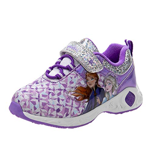 Josmo girls Character Sneakers, Pur…