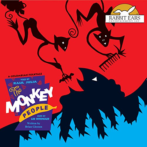 The Monkey People audiobook cover art