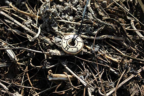 ᛁ ᚲ ᚺ ᚲ ᛁ-Spell' MIRRØR' Defense & Reflection Øld Nørse Unisex runic amulet,Asatru,Nordic,Scandinavian,Slavic,celtic,icelandic,Moon necklace