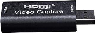 اداة صغيرة لتسجيل مقاطع الفيديو بمنفذ يو اس بي 2.0 يمكنها تسجيل مقاطع من كاميرا فيديو او بلاي ستيشن 4 او دي في دي او بث مب...