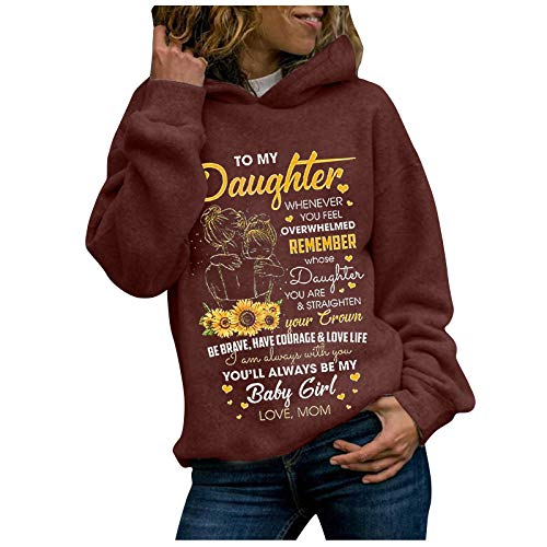 Women Sweatshirt Lightweight Long Sleeve Letter/Cat Print Casual Crewneck Hoodies Pullover Tops