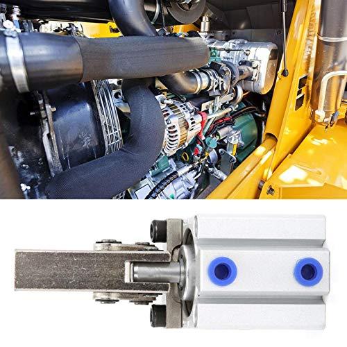 Cilindro neumático de cilindro de aire de vástago de pistón de doble efecto M5 para equipo neumático(ALC32 without magnetic)